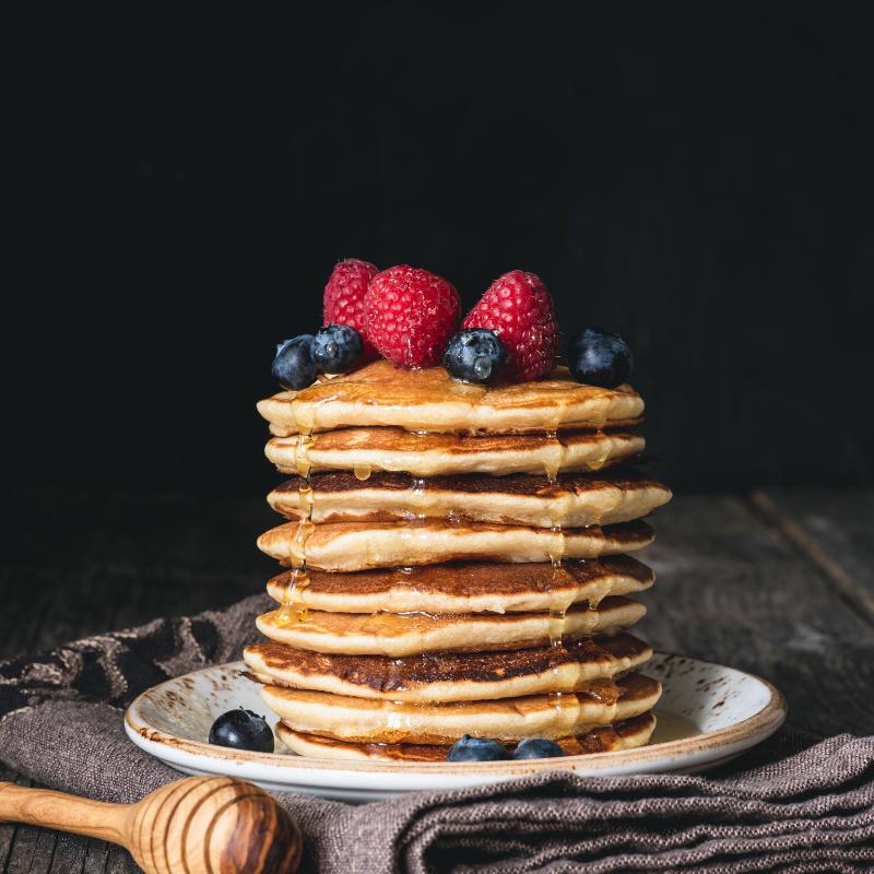 Receta de pancakes saludables